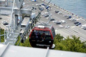 松島海上ケーブルカー